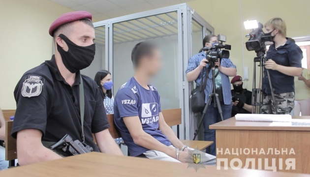 Трьох підозрюваних у нападі на авто Укрпошти арештували без права на заставу