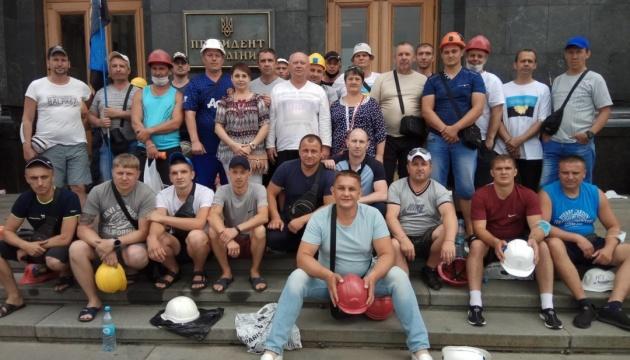 Шахтеры завершили всеукраинскую акцию протеста – Волынец
