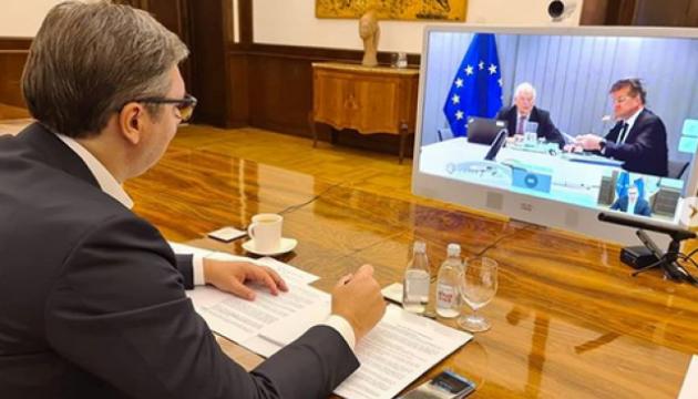 Лідери Косово та Сербії домовилися, про що говоритимуть у Брюсселі