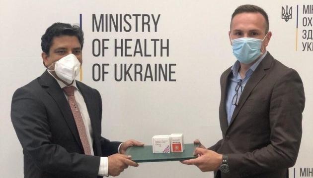 La India dona medicamentos para el tratamiento COVID-19 a Ucrania