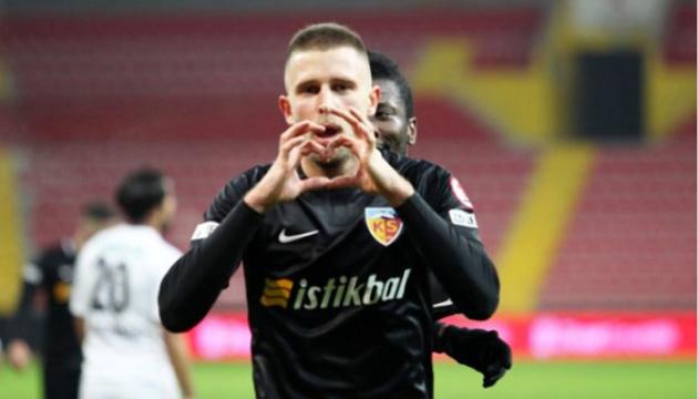 Артем Кравець провів найкращу гру за час виступу в Туреччині