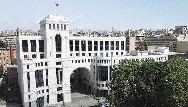 МИД Армении вызвал посла Украины из-за заявления о конфликте с Азербайджаном
