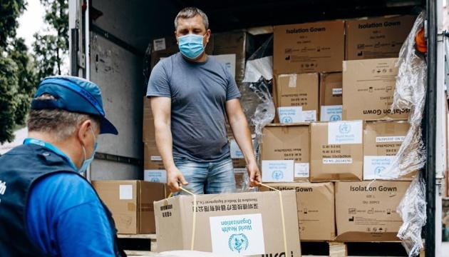 OMS entregará 1.500 litros de desinfectante a hospitales en Ucrania
