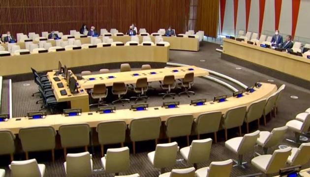 Радбез ООН провів перше невіртуальне засідання з початку пандемії