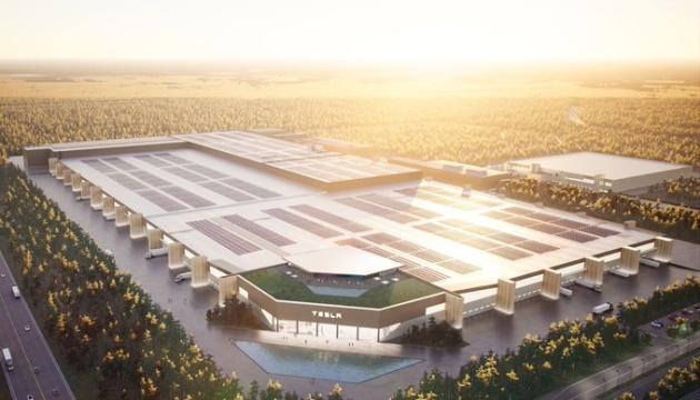 Маск показав дизайн майбутнього заводу Tesla поблизу Берліна