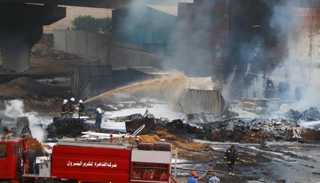 В Египте произошел пожар на нефтепроводе, есть пострадавшие