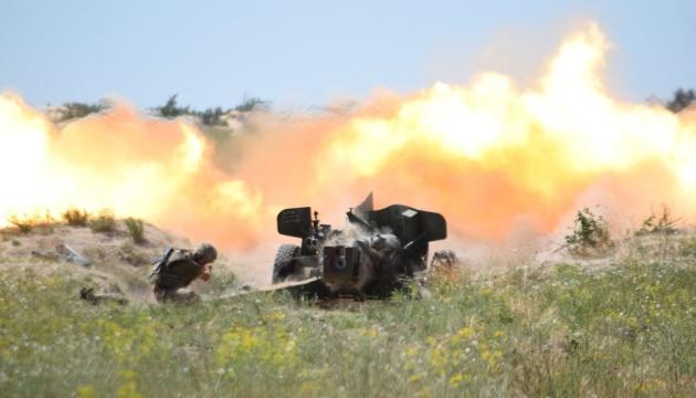 Вдень і вночі: артилерія ВМС відпрацювала протидію ворожому десанту