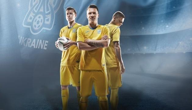 Joma представила новую форму сборной Украины по футболу