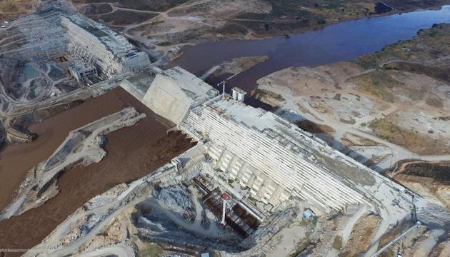 Ефіопія почала заповнювати водосховище на Нілі