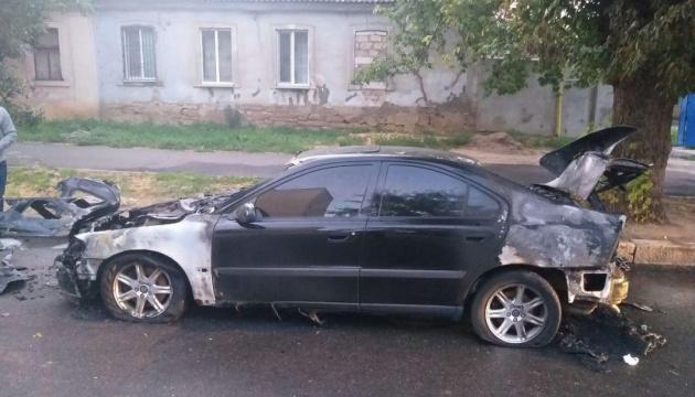 У Миколаєві підпалили автомобіль керівника