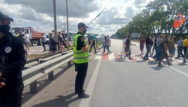 У Авакова хотят ужесточить наказание за блокирование дорог