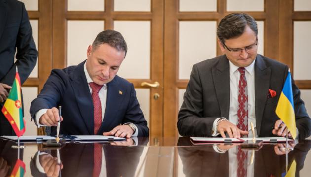 Ukraine signs visa waiver agreement with Grenada