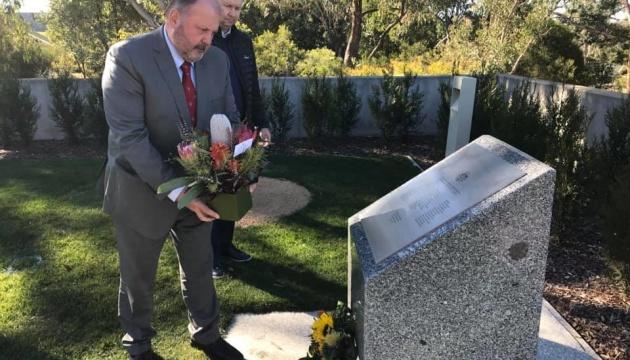 В Австралії посол України вшанував пам'ять жертв трагедії МН17