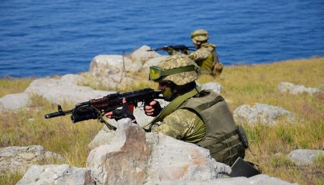 Прикордонники та моряки провели військові навчання у Чорному морі
