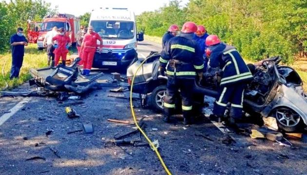 Im Gebiet Odessa Verkehrsunfall mit sechs Todesfällen