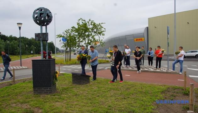 Українці у Нідерландах вшанували пам'ять жертв катастрофи МН17