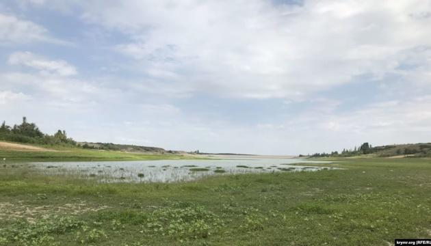 У Криму пересохла частина Білогірського водосховища