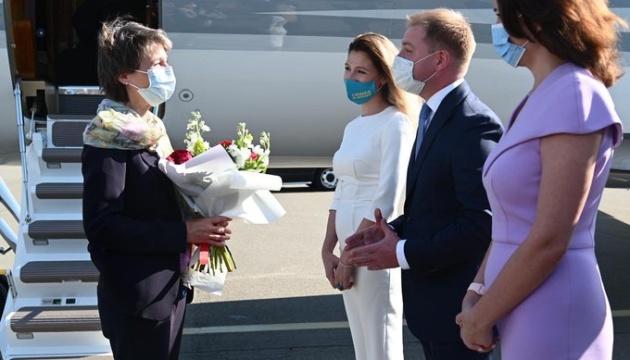 Президентка Швейцарії прибула до України