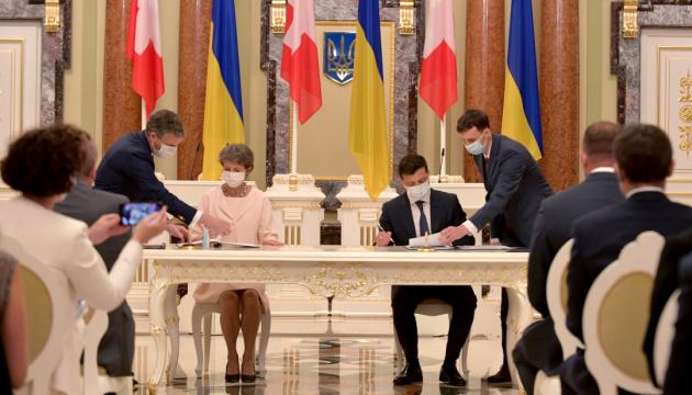 Президенти України та Швейцарії підписали меморандум про партнерство