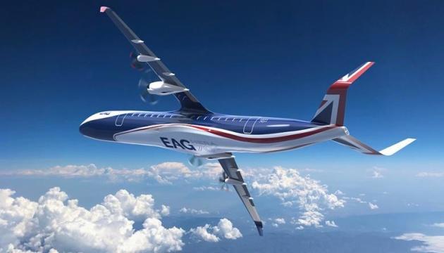 У Британії представили концепт гібридного пасажирського літака