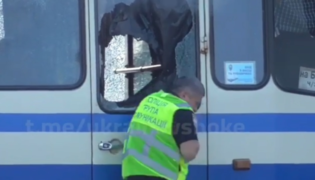 МВС: Куля терориста ледь не зачепила голову першого заступника голови Нацполіції
