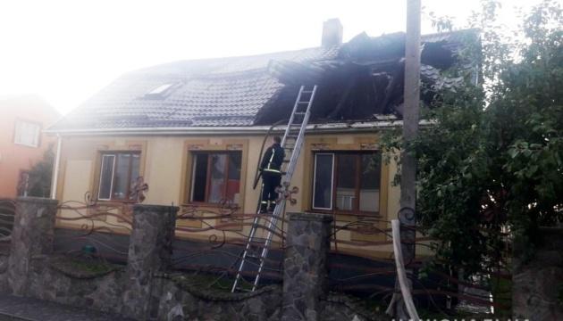 У Костополі спалили будинок голови райради та місцевого осередку