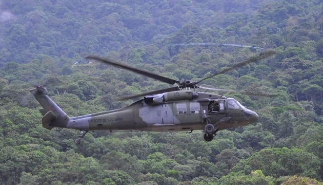 У Колумбії розбився військовий гелікоптер, дев'ятеро загиблих
