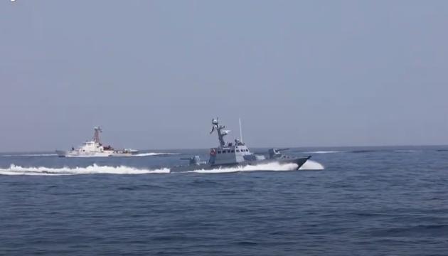 Артиллерийский бой на Sea Breeze: катера стреляли по скоростным целям
