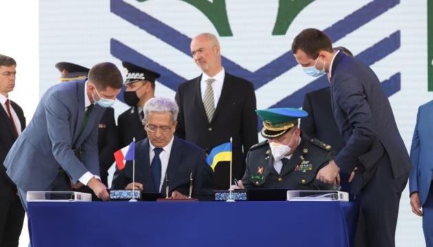 L'Ukraine a signé un contrat avec OCEA sur la construction de 20 bateaux-patrouilleurs pour les gardes-frontières