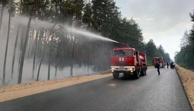 На Луганщине во время пожаров погиб человек, еще двое госпитализированы