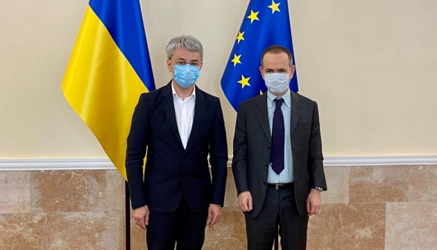 Tkachenko: Ucrania planea firmar un acuerdo de cooperación cultural con Italia