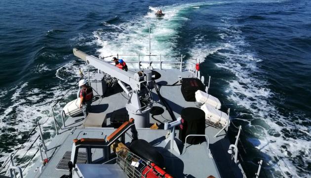 В Черном море - активная фаза учений Sea Breeze