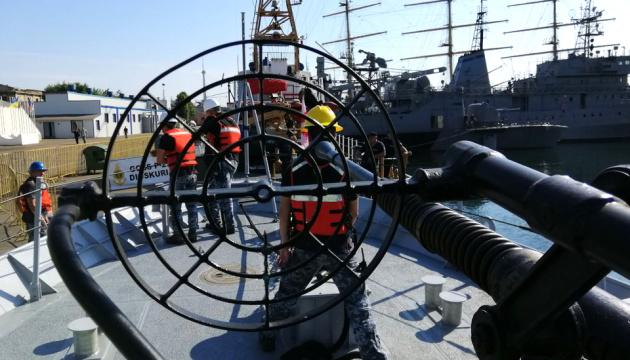 黒海海上にて多国間海軍共同演習「シーブリーズ」が継続