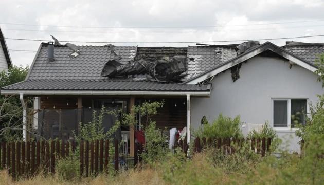 Пожежа у будинку Шабуніна: поліція не отримувала інформацію про вибухівку