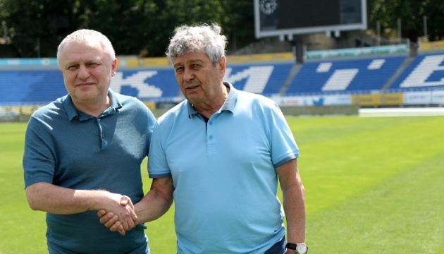 Former Shakhtar Donetsk coach Lucescu takes charge at Dynamo Kyiv