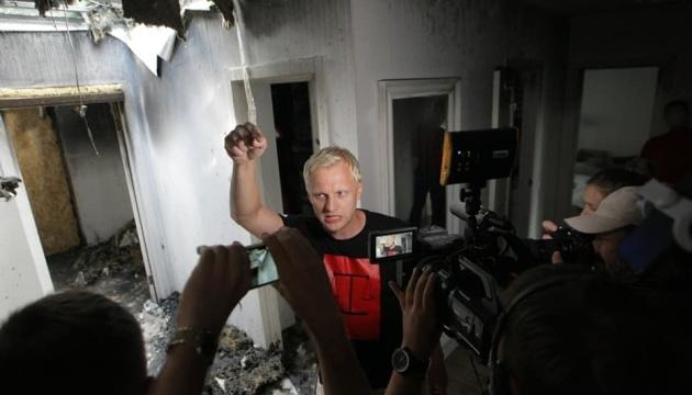 Слідство поки не має результату у справі про підпал будинку Шабуніна — поліція