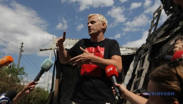 Шабунин заявляет, что экспертиза подтвердила поджог его дома