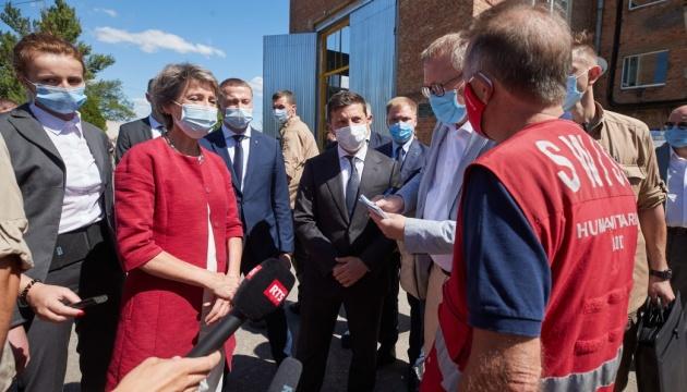 Президент Швейцарии рассчитывает на соблюдение перемирия на Донбассе