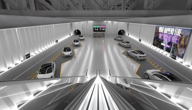 Маск презентував ескіз тунелю під Лас-Вегасом