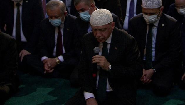 На перший намаз у Святій Софії прийшли 350 тисяч осіб - Ердоган