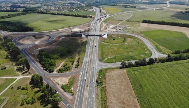 """У Полтаві відкрили першу чергу дороги, збудованої з нуля """"в чистому полі"""