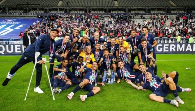 «ПСЖ» обіграв «Сент-Етьен» і став володарем Кубка Франції