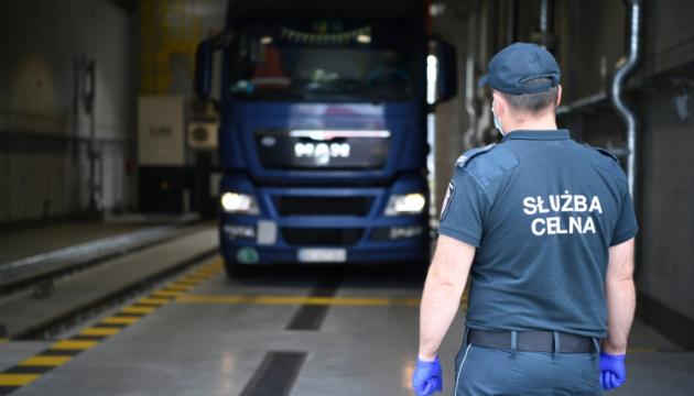 На кордоні Польщі з Україною стоять понад 500 вантажівок