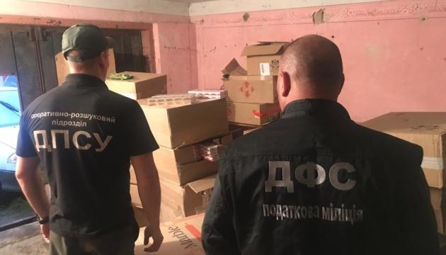 З гаража у Чернівцях прикордонники вилучили контрабанди на мільйон