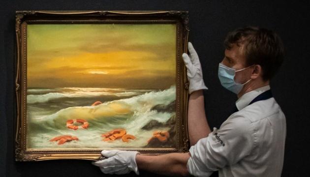 Бенксі пожертвував три картини для благодійного аукціону