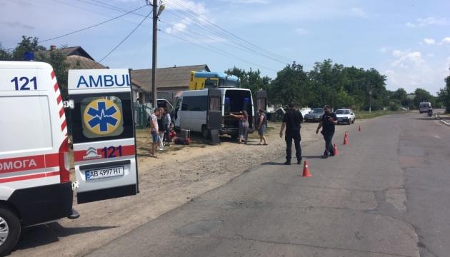 На Вінничині через п'яного пасажира маршрутка потрапила в ДТП