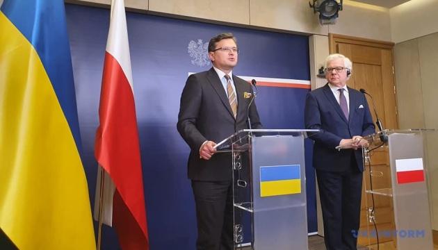 Kuleba - o problemach historycznych z Polską: ważna jest zasada wzajemności