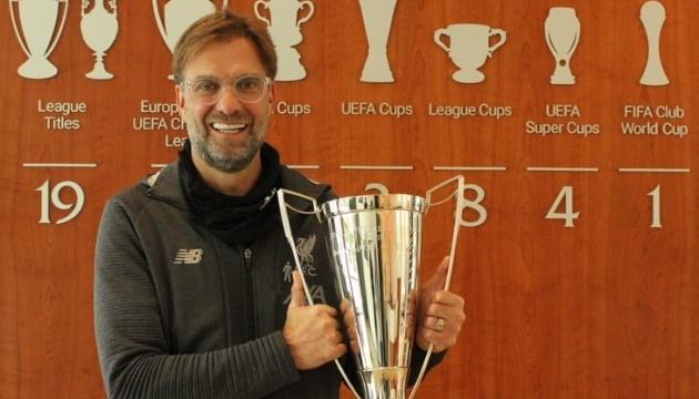 Юрген Клопп – кращий тренер сезону в Англії