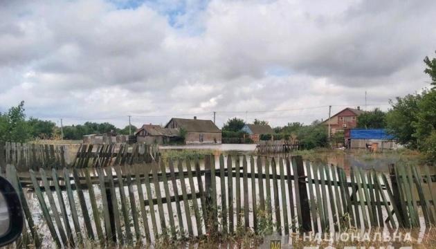 Злива підтопила село у Генічеському районі Херсонщини