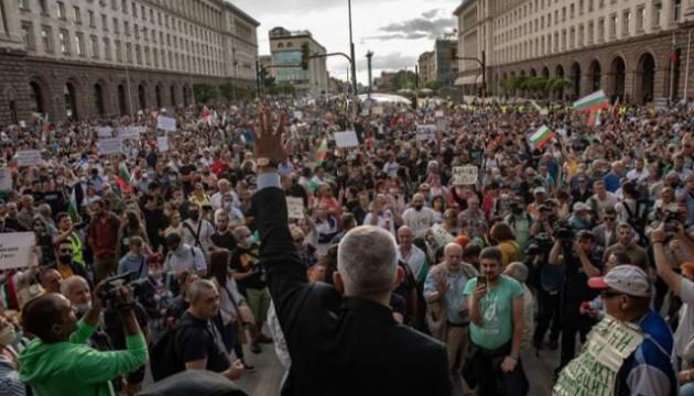 У Болгарії вже третій тиждень тривають антиурядові протести